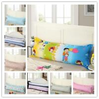1.2-1.8 Zipper Pillow Cover Protector Sleep Bed Long Body Pillowcase Mulit Color