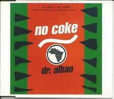 DR. ALBAN No Coke 4TRX w/ RARE MIXES 7 & 12 INCH CD Single SEALED USA Seller dr