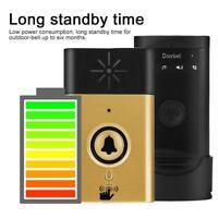 2.4G mhz Wireless Doorbell Voice Intercom Bell Phone Two-way Talk Home Security