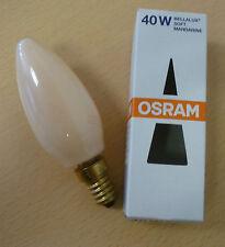 OSRAM Ampoule bougie bellalux Soft Mandarine 40W E14 Ampoule bougie
