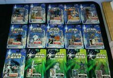 15  LOT Star Wars ACTION FIGURES Saga