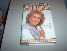 """Barbara Walters An Unauthorized Biography"" hardback"