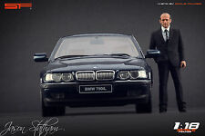 1/18 Jason Statham figure VERY RARE !!! for 1:18 Autoart Exoto CMC BMW