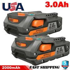 2Pack for Ridgid R840085 3.0Ah Lithium Battery Rigid 18Volt R840087 Power Tools