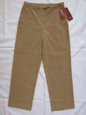 JM Collection Petite Woman's Suede Flattering Fit Career Dress Pants, Sz:6P ~NWT