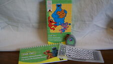 Cricut Cartridge - SESAME STREET FRIENDS - Used - ORIGINAL W/ OVERLAY NOT LINKED