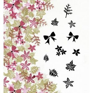 Card-io Bijou Blooms Majestix Clear Peg Stamps CDMABIJ-01