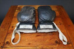 Vintage Leather Boxing Gloves Boxe Francaise Cuir Vintage 1940s Thailand Thai