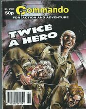 TWICE A HERO,COMMANDO FOR ACTION AND ADVENTURE,NO.2909,WAR COMIC,1995