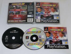 Formula One 99 (3+) (PlayStation 1, PS1) Sony Original Black Label Complete