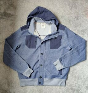 Police 883 Zip Up Blue Hoodie Jacket Men's size 6 XL/2XL COST£74⁹⁹