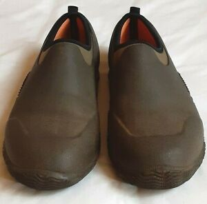 Martha by Mail Outdoor Garden Shoes  Women's 6.5 Men's 5 Brown Weather Proof