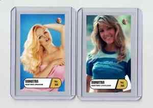 Heather Locklear rare MH Sumatra #'d 3/3 Tobacco card no. 368