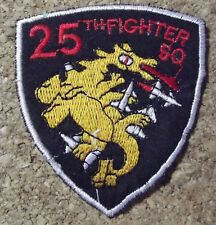 Ecusson/patch - Vietnam - US air force - 25 th fighter squadron