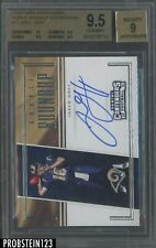 2016 Contenders Roundup #12 Jared Goff RC Rookie AUTO BGS 9.5