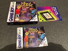 ^^^^ Magi-Nation (Nintendo Game Boy Color 2001) Box and instruction manual book