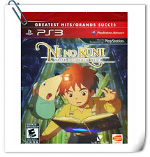 PS3 NI NO KUNI WRATH OF THE WHITE WITCH SONY PLAYSTATION RPG Namco Bandai Games