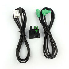 Car Auto Accessory AUX USB Switch Wire Harness Cable Adapter For BMW E87 X5 X6