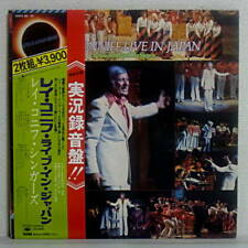 JAPAN PRESS ONLY 2LP OBI RAY CONNIFF and THE SINGERS LIVE IN JAPAN 1975 w/Sheet