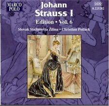 Strauss i Edition vol. 6 Christian Pollack, Slovak Sinfonietta Hliny NUOVO