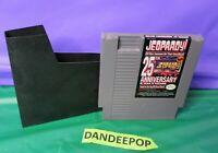 Jeopardy -- 25th Anniversary Edition (Nintendo Entertainment System, 1990)