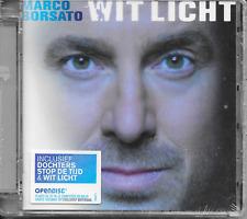 MARCO BORSATO - Wit licht CD Album 11TR Enh Netherlands 2008 (NEW! SEALED!)