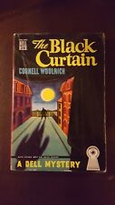 "Cornell Woolrich, ""Black Curtain,""  1948, Dell Mapback 208, VG/VG+, 1st"