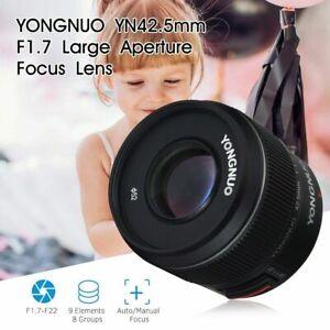 YONGNUO YN42.5mm F1.7M II Large Aperture AF/MF Standard Prime Lens fr M4/3 Mount