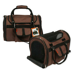 Prefer Pets Stylish Privacy Pet Carrier Duffel, Small Airline Approved, Name Tag