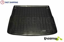 Tailored Rubber Boot car mat liner Heavy Duty AUDI A4 B8 Avant Estate 2008-2015