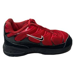 Nike Air Max Sneakers Infant Size 10 C Red Black Shoes CI5651-600