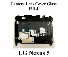 New 100% OEM Replacement Camera Lens Glass Frame Cover Full for LG Nexus 5 D820