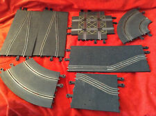 very rare vintage 1/32 TRIANG SCALEXTRIC Slot Track - various trackparts look