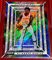 2019-20 Panini Player of the Day Rapture De'Andre Hunter Rookie RC #d 58/99🔥🔥