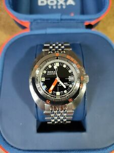 Doxa SUB300 COSC Sharkhunter Black Dial Box And Papers 2020