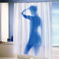 Duschvorhang Modern Silhouette Sexy Lady 180x180 cm incl. 12 Aufhängeringen