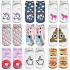 1 Pairs New Men Womens Casual Sports Socks Crew Ankle Low Cut Cotton Socks E