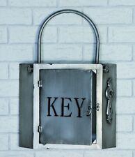 Casablanca Schlüsselboard Key Metall anthrazit/silber 10 Haken Schlüsselkasten