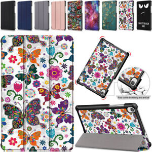 For Lenovo Tab M8 TB-8505F TB-8705F Case Leather Protective Magnetic Flip Cover