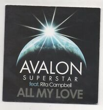 Avalon Superstar Feat. Rita Campbell So Alive & All My Love Remix Lot of 2 CD's