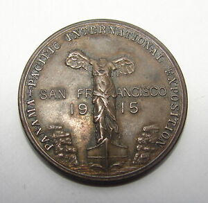 1915 SO-CALLED DOLLAR HK-404a PANAMA PACIFIC SAN FRANCISCO EXPOSITION 38mm
