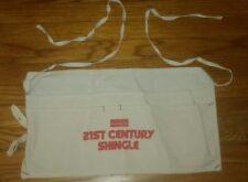 Owens Corning de fibra de vidrio para techos de bolsa para clavos  publicidad Delantal de cinturón de herramientas Nuevo Viejo 644b019381c1