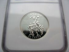 1999 Canada Commemorative Sterling Silver Fifty Cent - NGC PF-69