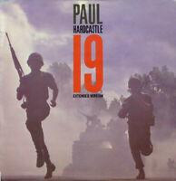 "Paul Hardcastle – 19 12"" Vinyl P/S Single UK CHS 12 2860 1985"