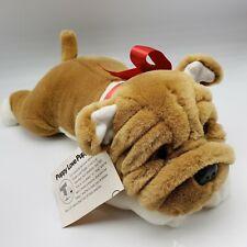 Shar Pei Plush Dog Brown White Puppy Love Teddy Crafters Valentine Wrinkle