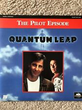 Quantum Leap - The Pilot Episode Laserdisc Laser Disc Very Good Free Shipping!