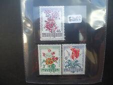 Belgium 1960 Ghent Flower Show (3v Set) (SG 1713-15) MNH