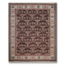 """8'8"""" x 11'7"""" Hand Knotted Caucasian full pile 100% Wool Oriental Area Rug Black"""