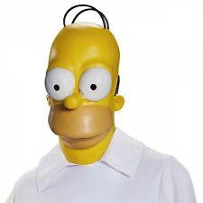 Homer Mask Costume Mask Adult The Simpsons Halloween