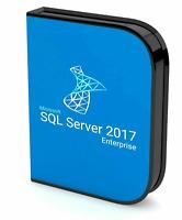 Microsoft SQL Server 2017 Enterprise 4 Core Activation Key | Digital Delivery